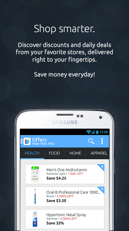 Beep'nGo - Smart Coupons App