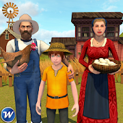 My Family Farm - Virtual Farm Games APK baixar