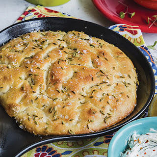 Skillet Bread with Fennel Seed.