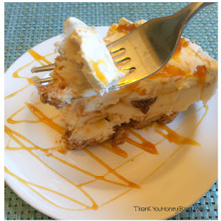 Caramel Vanilla Ice Cream Pie