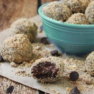 Dark Chocolate Sea Salt Truffles