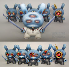 """Photo: Jack's Red Team - 3"""" Dunny Series"""