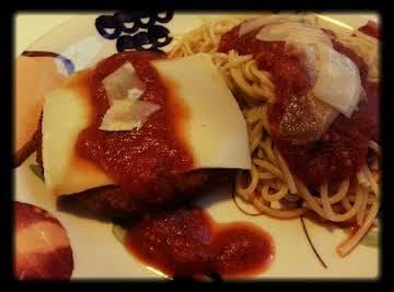 Week Night Chicken Parmesan
