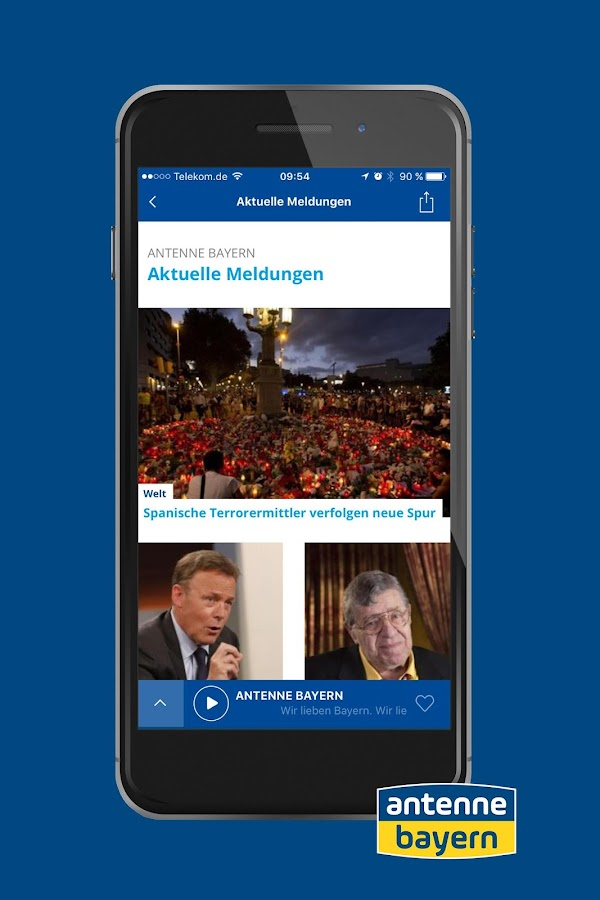 ANTENNE BAYERN- screenshot