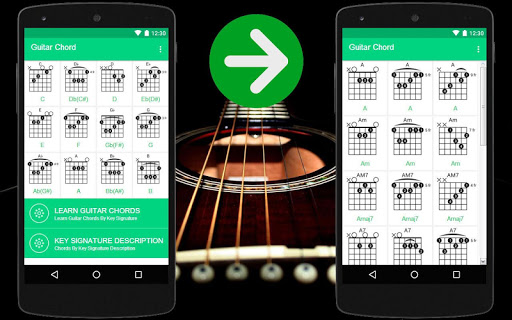 Guitar Chords for Beginners app (apk) free download for Android/PC/Windows screenshot