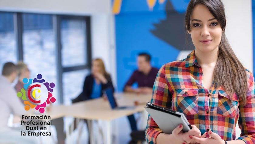 Las empresas se están implicando en un sistema que les permite formar a jóvenes para cubrir sus necesidades.