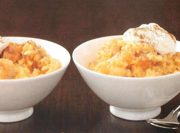 Sweet Potato Rice Pudding Recipe