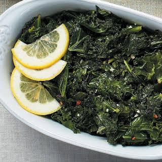 Garlic-Lemon Kale Sauté.