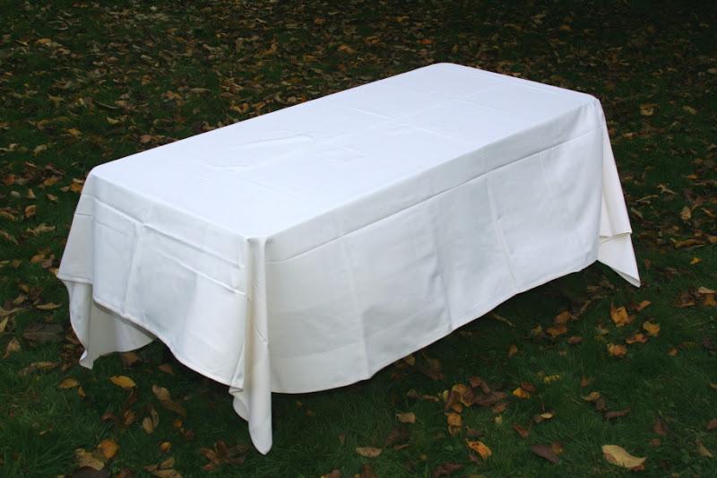 Tafeldoek wit huren
