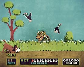 """Photo: """"Duck Hunt"""" (2013)  https://en.wikipedia.org/wiki/Duck_Hunt https://en.wikipedia.org/wiki/Bowser_(character)"""