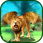 Angry Flying Loin Simulator Icon
