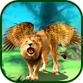 Angry Flying Lion Simulator