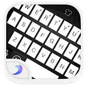 Emoji Keyboard-Black and White
