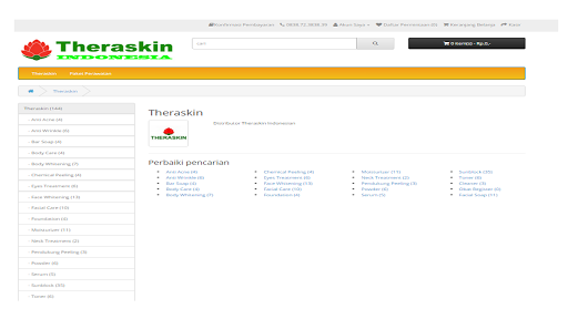 Theraskin Indonesia Aplicaciones (apk) descarga gratuita para Android/PC/Windows screenshot