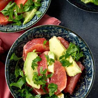 Grapefruit & Avocado Salad.