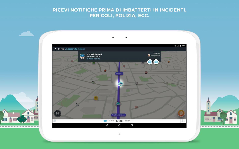 waze gps mappe avvisi sul traffico live app android su google play. Black Bedroom Furniture Sets. Home Design Ideas