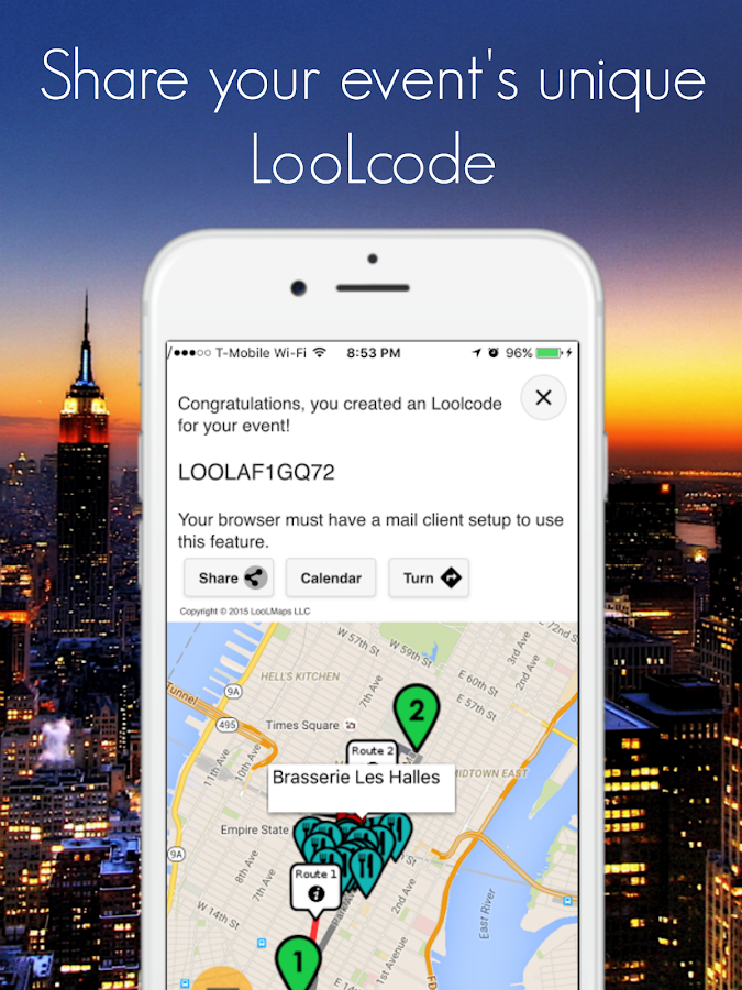 LooLMaps- screenshot