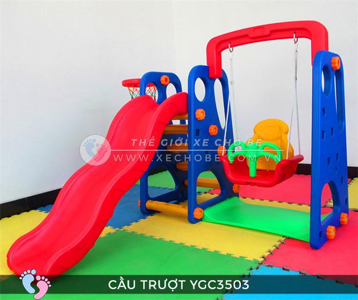 Cầu trượt trẻ em đa năng YGC-3503 8\