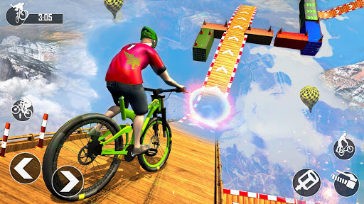Mega Ramp BMX Bicycle Racing : Tricky Stunts 2020 filehippodl screenshot 8