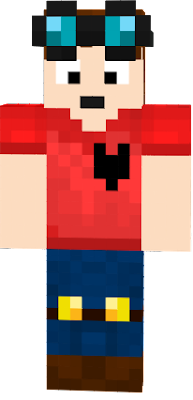 This is The Amazing DanTDM With a Red Dab Police Shirt on! (only of DanTDM)