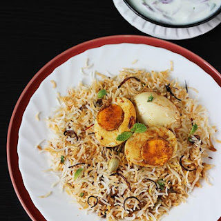 Hyderabadi Egg Biryani Recipe | Egg Dum Biryani | Anda Biryani