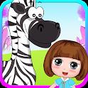 Dora Playtime with baby zebra icon