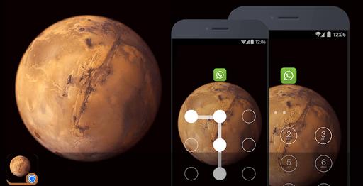 应用锁主题 - 火星主题