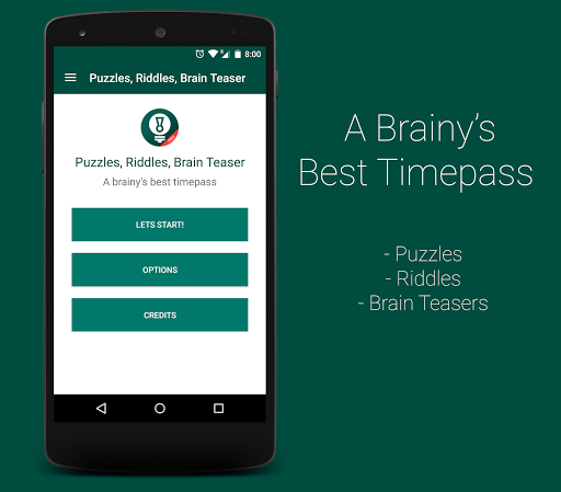 Puzzles Riddles BrainTeasers