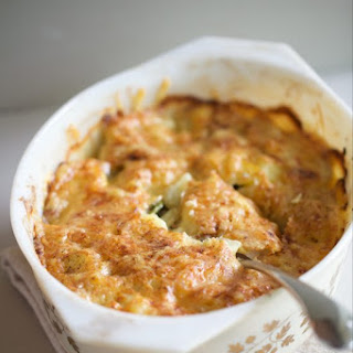Potato & Fiddlehead Fern Gratin