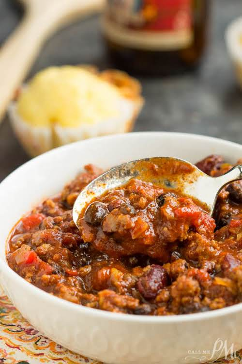 """First Place Chili """"First Place Chili recipe is a great cold weather..."""