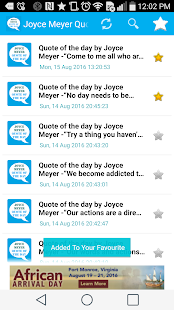 Joyce Meyer Quote of the Day- screenshot thumbnail