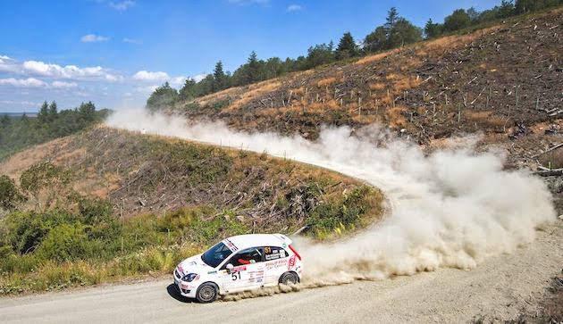 Hughes takes Cambrian Rally win