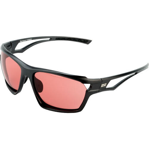 Optic Nerve Variant Photochromatic Sunglasses: Shiny Carbon