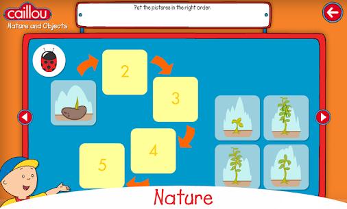 Descargar Caillou learning for kids para PC ✔️ (Windows 10/8/7 o Mac) 3