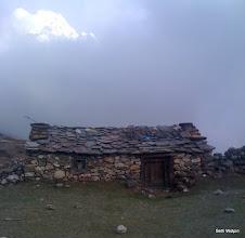 Photo: Seasonal Tea house with Ama Dablam peaking out