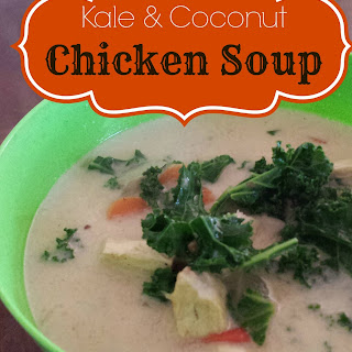 Kale & Coconut Chicken Soup