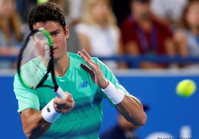 Tennis: Raonic se méfie de Goffin