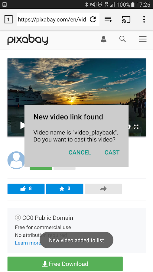 EZ Web Video Cast | Chromecast- screenshot