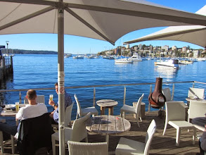 Photo: Guests welcome at the 18 Footers Sailing Club - Restaurant Dining, or Alfresco