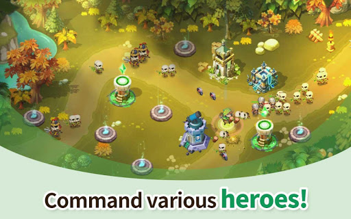 Hero Defense King 1.0.3 screenshots 11