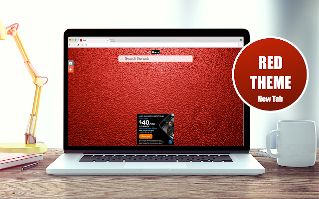 *NEW* HD Red Wallpapers New Tab Theme