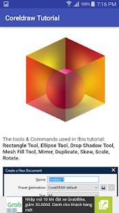 Tutorial Corel Draw - náhled
