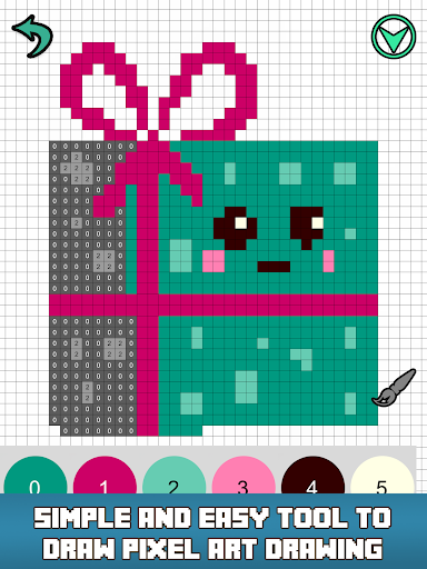 Pixly - Paint by Number,Pixel Art,Sandbox Coloring - screenshot