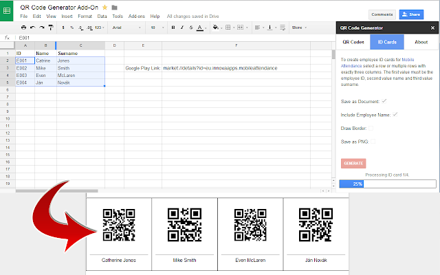 Qr code generator google sheets add on an error occurred stopboris Image collections