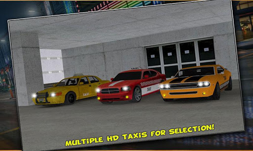 Modern City Taxi Simulation 3D