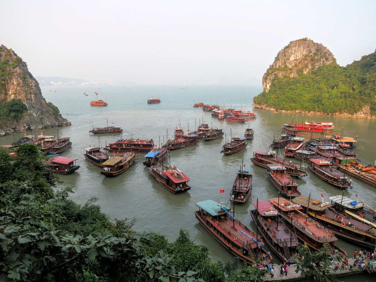 Driftwood Island Pier for Dau Go Grotto