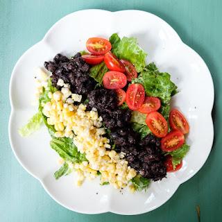 Black Bean Salad with Avocado Dressing Recipe