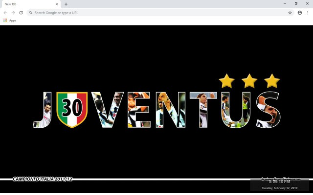 Juventus New Tab & Wallpapers Collection