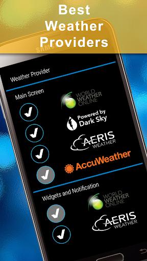 Weather Rise Clock 30+ Widgets 4.2.2 screenshots 4