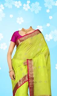 Download Women Saree Photo Suit For PC Windows and Mac apk screenshot 1